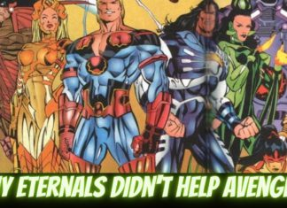 why the eternals did not fight thanos in endgame