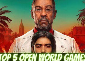 top 5 open world games