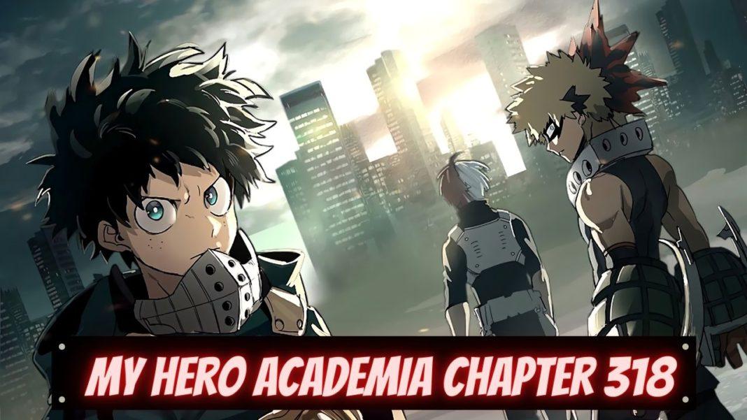 my hero academia chapter 318 release date