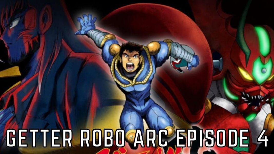 getter robo Arc Episode 4 release date