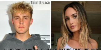 Julie Rose And Jake Pual's Dating Timeline And Breakup Explained