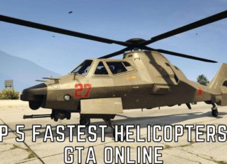 top 5 fastest helicopters in gta online