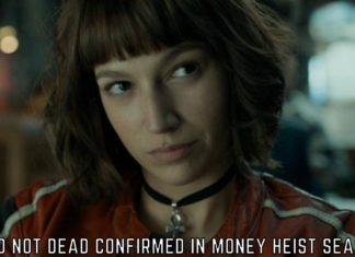 Tokyo NOT DEAD Confirmed in Money Heist Season 5