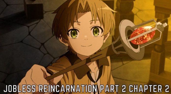 Jobless Reincarnation Part 2 Chapter 2 Release Date